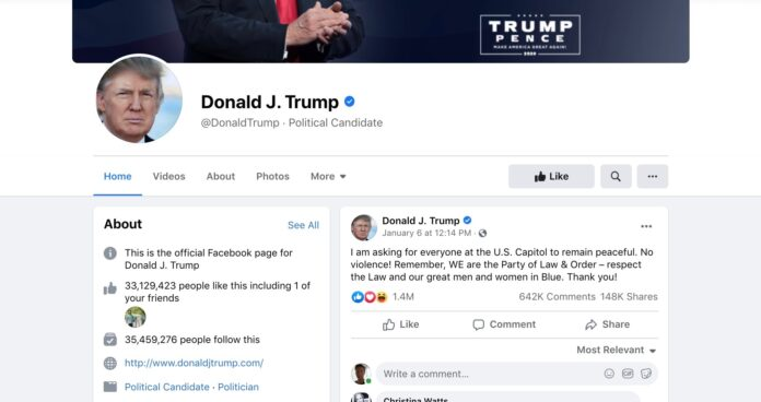 fate-of-trumps-facebook-account-to-be-decided-by-independent-panel-of-experts