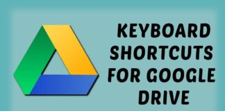 google-drive-keyboard-shortcuts