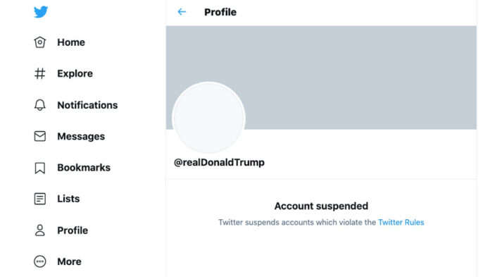 Twitter Permanently Suspends trump, twitter, trump, banned trump, ban trump,