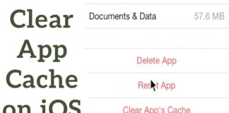 how-to-clear-cache-on-iphone
