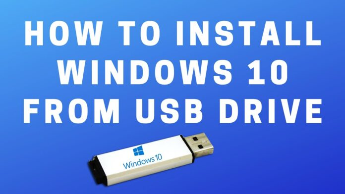 how-to-install-windows-10-from-usb