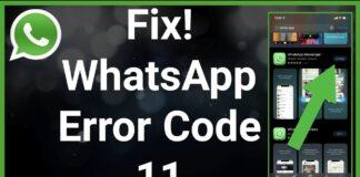 whatsapp-error-code-11