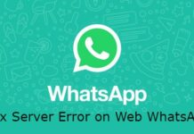 whatsapp-web-5xx-server-error