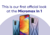 Micromax In 1 Review: Design, Price and Specifications