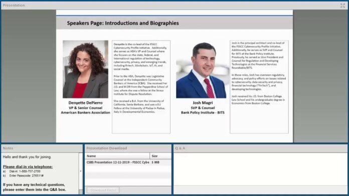 FSSCC Cybersecurity Profile