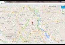 Google Map Location For Website