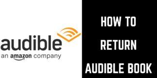 How Do I Return An Audible Book
