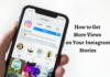 How To Get More Instagram Story Views
