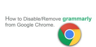 How to Remove Grammarly from Chrome