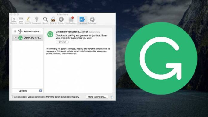 How to Remove Grammarly from Safari on Mac