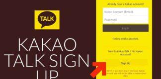 Kakaotalk Sign Up