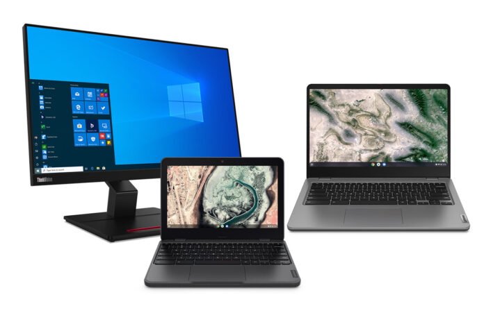 Lenovo Launches New Windows 10 Laptops and Chromebooks for Students