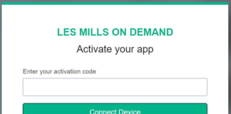 Les Mills on Demand Activate Roku