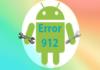 Google play error 912