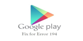 How to solve Error 194 in Android?