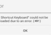 Google Play Error 491