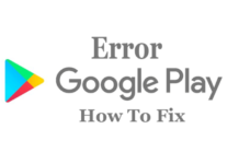 Google Play Error 693
