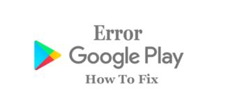 Google Play Error 693