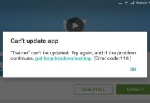 Android Fix: Google Play Error 110