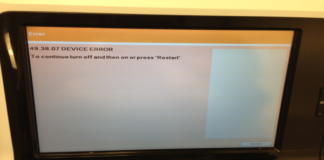 HP Error 49.38 07