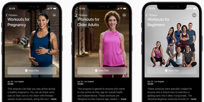 Apple Fitness+ Adds New Workouts in an Effort to Get Everyone Moving