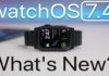What's new in watchOS 7.4 (Video)