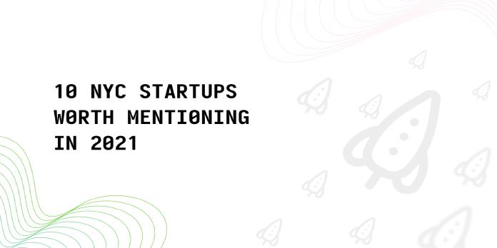 2021 Best Tech Startups in NYC