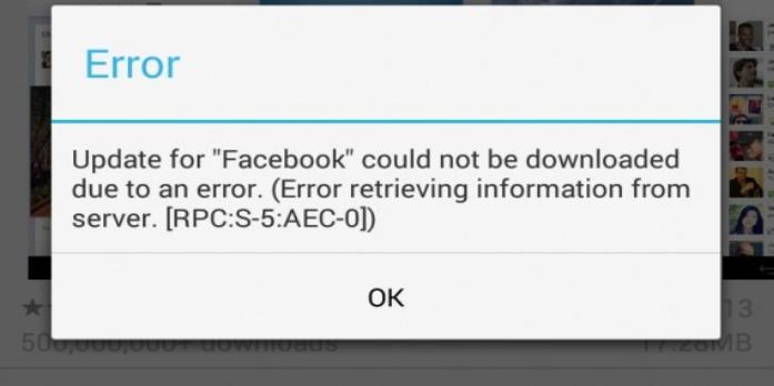 Google play Error RPC:S-5:AEC-0