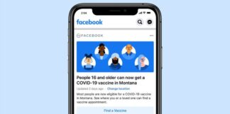 Facebook Makes It Easier to Find Out Where to Get Your COVID-19 Vaccine
