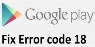 How To Fix Error Code18 in Google Play Store