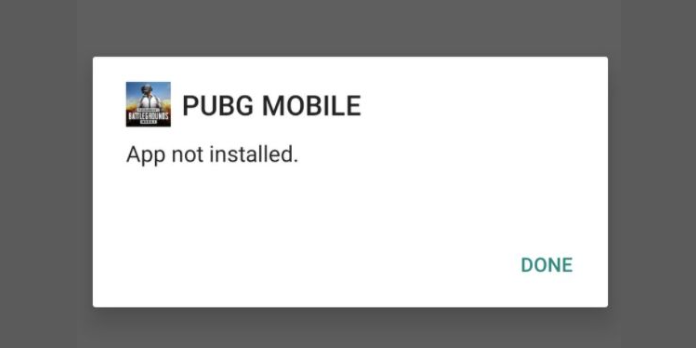 Pubg Mobile App Not Installed Error