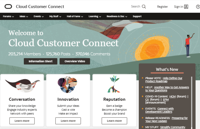 Oracle Customer Connect