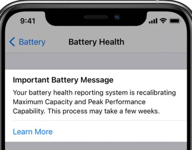 Apple Will Recalibrate iPhone Batteries When You Upgrade to iOS 14.5