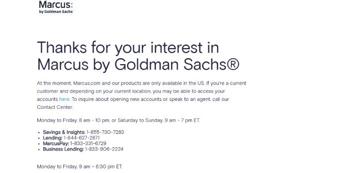Goldman Sachs Cd Account Login
