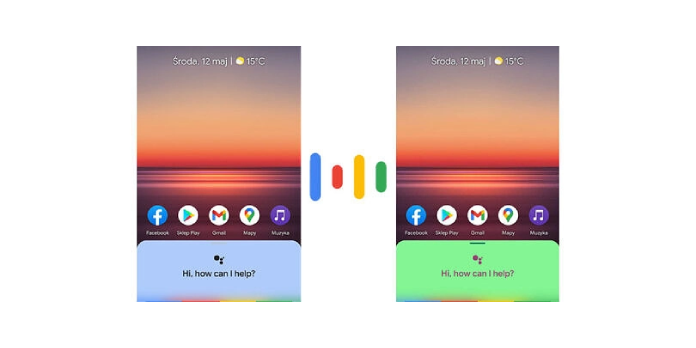 Google Assistant tests a funky colorful design alongside one-click shortcuts