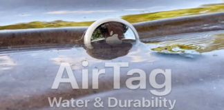 How waterproof is the Apple AirTag (Video)