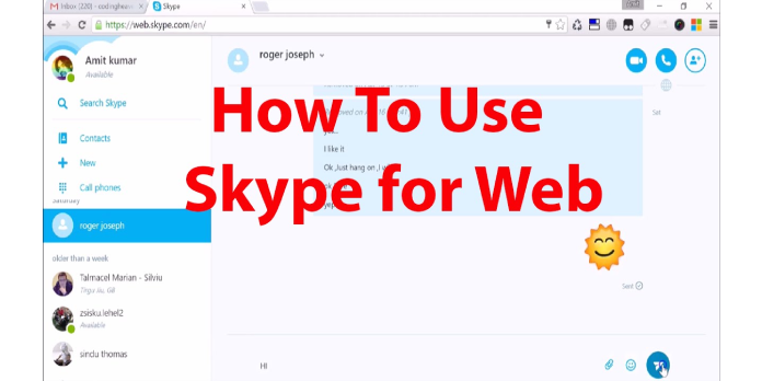 How to Skype from your browser