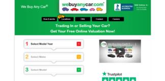 We Buy Any Car Login