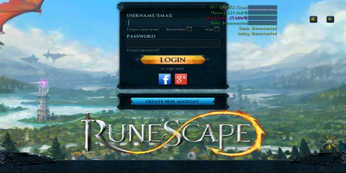 Runescape 3 Login