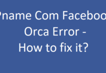Facebook orca Has Stopped