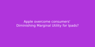 Apple overcome consumers' Diminishing Marginal Utility for Ipads?