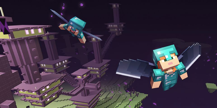 Minecraft End Cities Reimagined In Massive Player Build