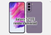 Samsung Galaxy S21 FE 3D renders appear, looks identical to Galaxy S21