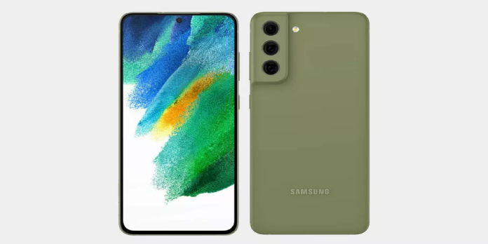 Samsung Galaxy S21 FE showcased in colorful new renders