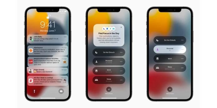 Apple releases iOS 15 beta 1