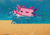 Minecraft: Axolotls   How to tame an axolotl in the Cliffs & Caves update