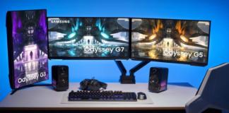 2021 Samsung Odyssey gaming monitors make flat screens hip again