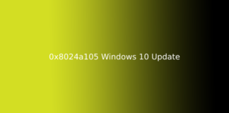 0x8024a105 Windows 10 Update