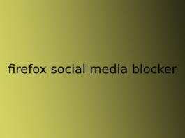 firefox social media blocker
