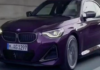 2022 BMW 2 Series Coupe G42 Leaks Ahead of Goodwood FoS Debut